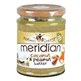 Meridian - Coconut & Peanut Butter - 280g (Pack of 3)