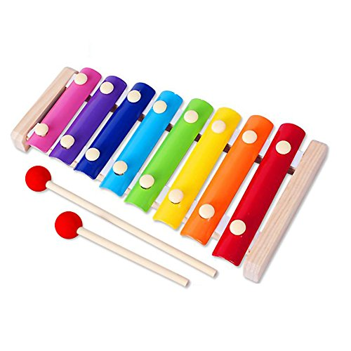 Colorful-8-Tones-Hand-Knock-Xylophone-with-2-Wooden-Mallets-Inspire-childrens-talent-for-music