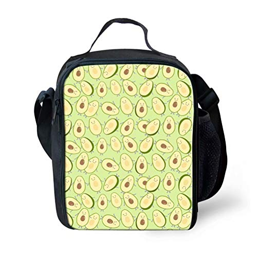 Beauty Collector Avocado Lunch Box Bag for Kids ()