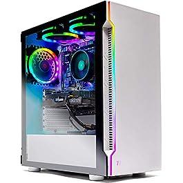 Skytech Archangel Gaming Computer PC Desktop – Ryzen 5 3600 3.6GHz, GTX 1660 Super 6G, 500GB SSD, 16GB DDR4 3000MHz, RGB…