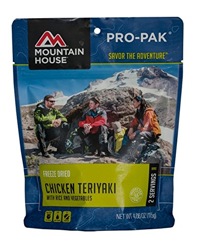 Mountain House Chicken Teriyaki with Rice, Pro-Pak 2-Pack