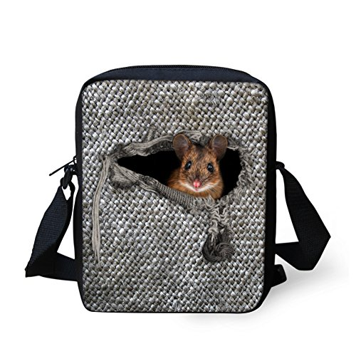 Body CHAQLIN Mini Shoulder Strap 2 Bag hamster Cross Adjustable Small w Messenger zrEwzFq