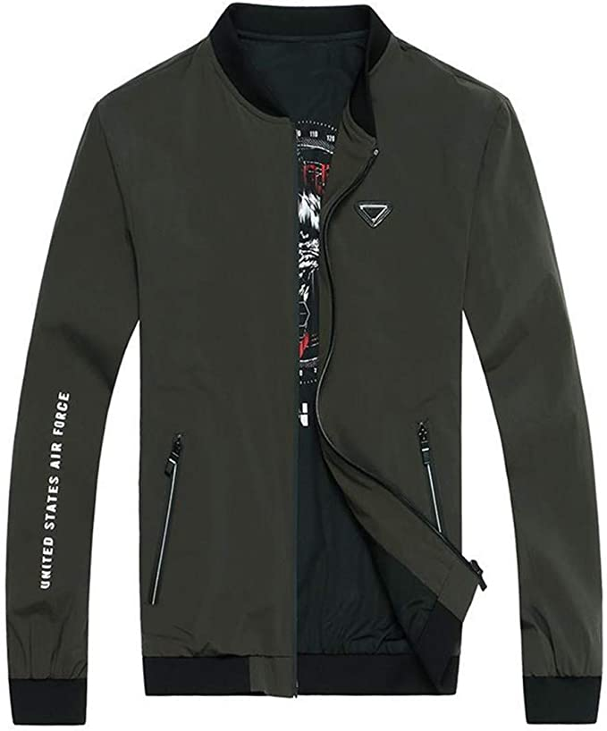 KT & Jacket Chaqueta de Hombre Chaqueta de Polo Bomber Abrigo ...