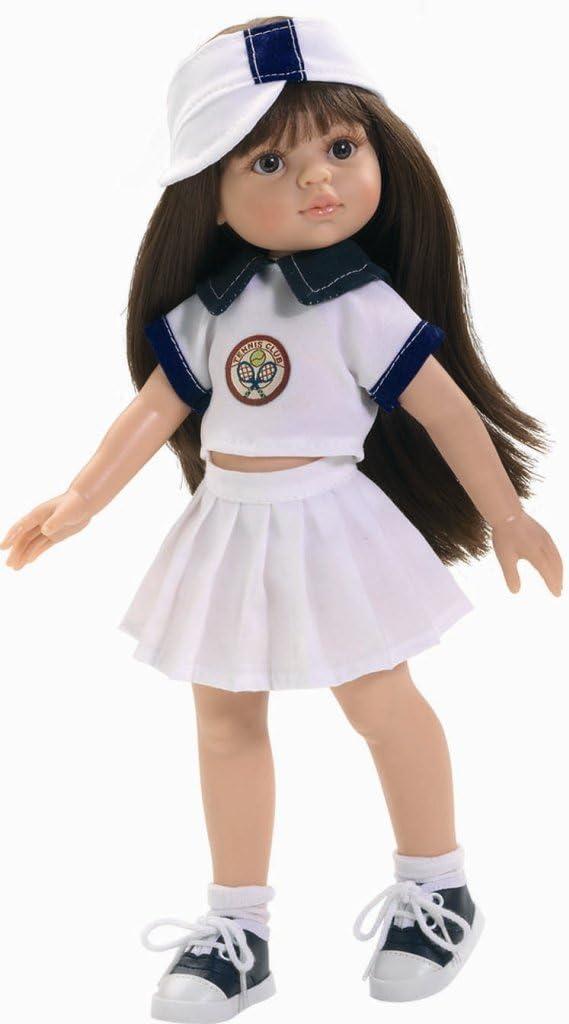 Amazon.es: Paola Reina - Muñeca Carol tenista, de plástico, 32 cm ...