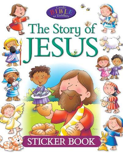 Download The Story of Jesus Sticker Book (Candle Bible for Toddlers) pdf