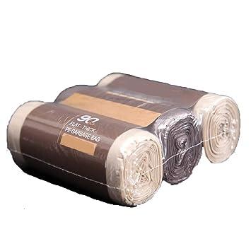 YOUZHI Bolsas de Basura de Plástico Pequeñas,45 * 55cm,3 ...