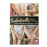 Bride & Bachelorette Party Tattoos 50+ Premium Designs 5 Sheets of Temporary ...