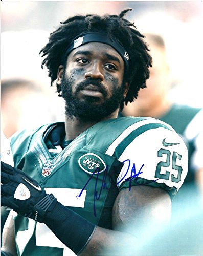 JOE MCKNIGHT NEW YORK JETS AUTOGRAPHED SIGNED 8X10 PHOTO W/COA by ALL STAR CARDS & COLLECTIBLES