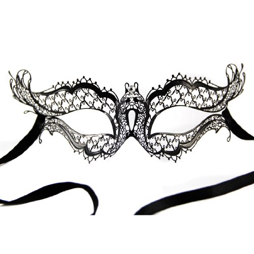 Burlesque Masks (Burlesque-Boutique Black Prom Queen