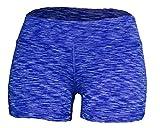 WOD Shorts for Women (Dark Blue Space Dye, S/6)