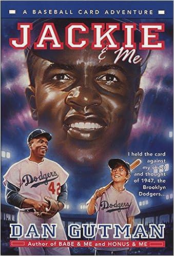 Jackie Me Baseball Card Adventures Dan Gutman 9780380800841