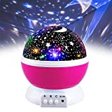 Toys for 3-12 Year Old Boys, Our Day Night Light Moon Star 360°