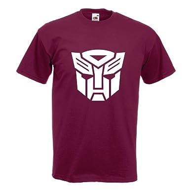 KIWISTAR - Transformers Emblem T-Shirt in 15 verschiedenen Farben - Herren  Funshirt bedruckt Design