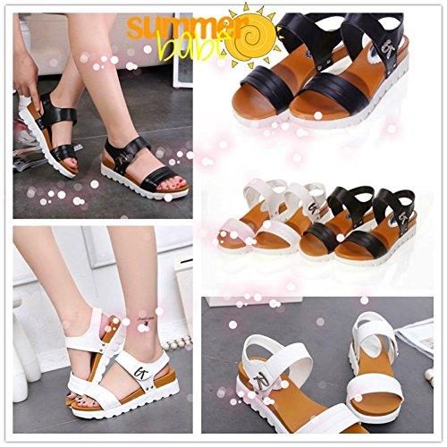 Grande Chaussures Marron Noir Mode Blanche Lacets Cuir Blanc QdrxoCBeWE