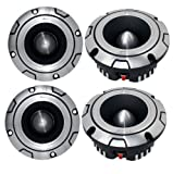 4) NEW Lanzar OPTIBT38 Optidrive 1600W Heavy Duty Aluminum Super Bullet Tweeters