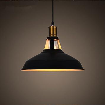 Wanson Lámparas Colgantes Retro Iluminación Industrial ...