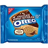 Oreo Chocolate Peanut Butter Pie Sandwich Cookies, 12.2 Oz (Pack of 2)