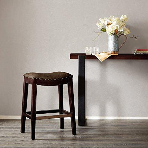 Saddle Counter Stool Belfast/Mushroom - Saddle Stool Hardwood Seat