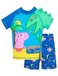 Peppa Pig Boys' George Pig Two Piece Swim Set