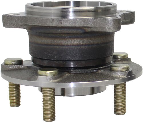 Detroit Axle - REAR Wheel Hub and Bearing Assembly For 2004-2008 2004-08 Mitsubishi Endeavor AWD - [2010-11 Mitsubishi Endeavor AWD]