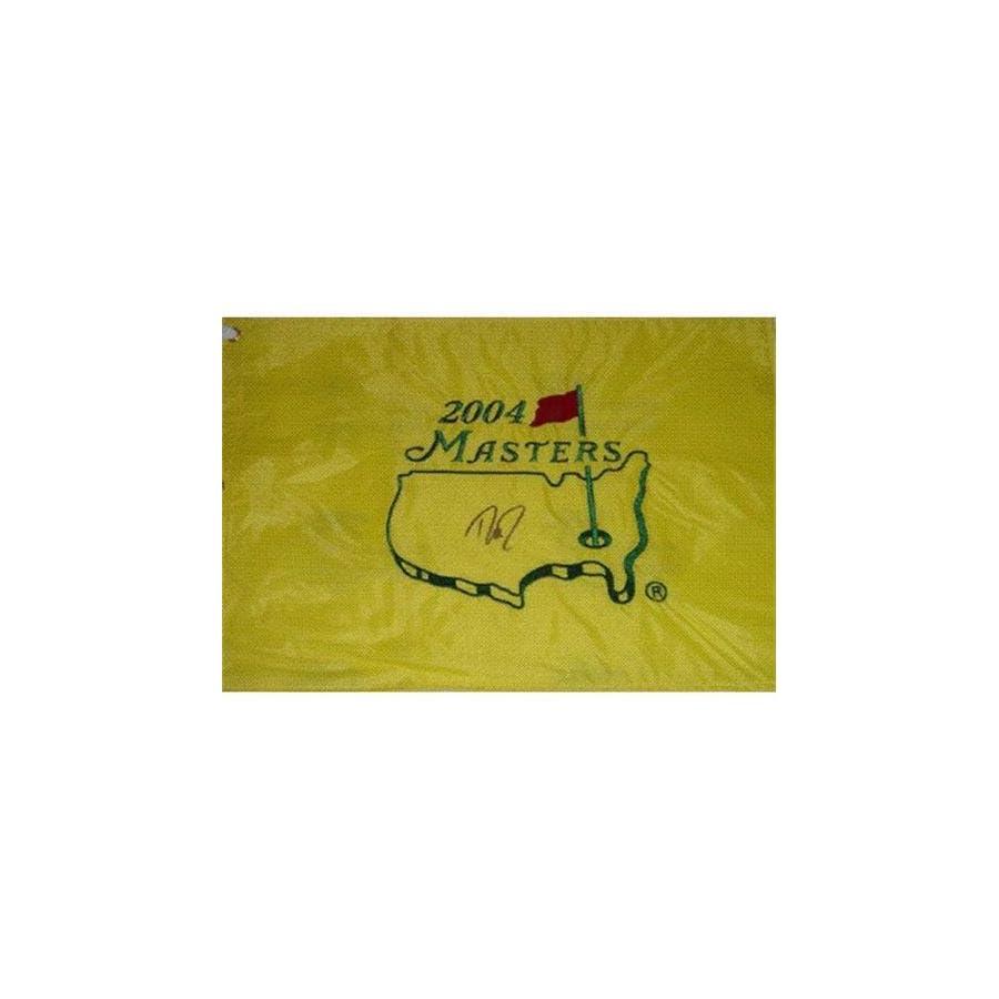 Davis Love III Autographed 2004 Masters Golf Pin Flag