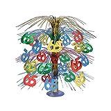 Beistle Party Decoration 65'' Cascade Centerpiece 18'' - Multicolor- Pack of 6