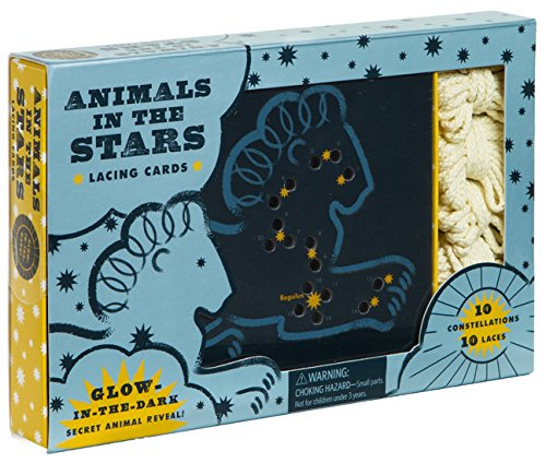 Animals in the Stars Lacing Cards