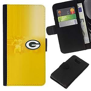 GRAMO - la tarjeta de Crédito Slots PU Funda de cuero Monedero caso cubierta de piel Para Samsung ALPHA G850
