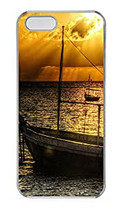 iPhone 5s Cases & Covers - Old Ship At Sunset PC Custom Soft Case Cover Protector for iPhone 5s - Transparent
