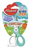 Maped Kidi Cut Security Scissors, 5 Inches, Assorted Colors