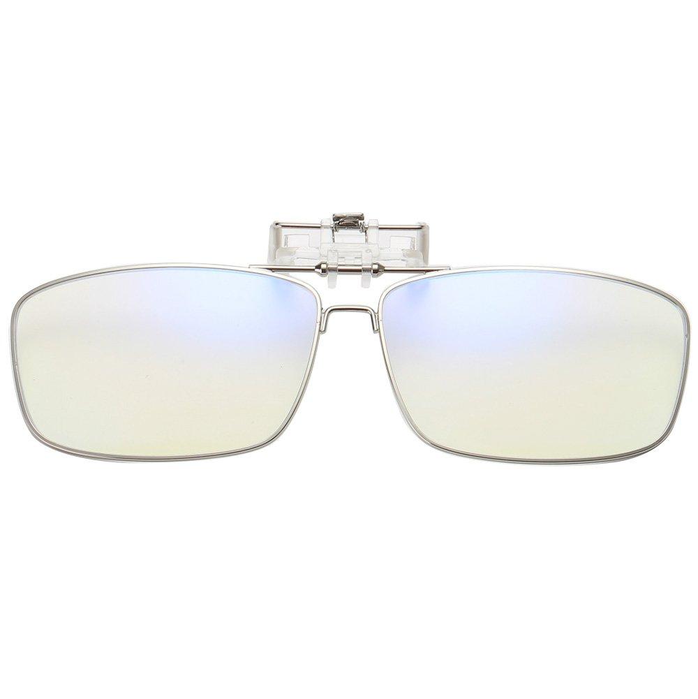 Computer di blocco della luce blu Clip per occhiali da lettura UV anti strain in vetro (uomo/donna) Sheen Kelly