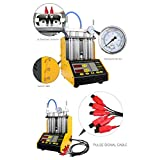 Autool CT-150 Automotive 4 Cylinder Ultrasonic Wave Injector Cleaner and Tester Support Motorcycle CT150 Automotive Fuel Cleaning Tools