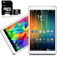 Indigi 7.0 Tablet PC Android 4.2 JB WiFi HDMI Gold Leather Back ->Free 32GB<-