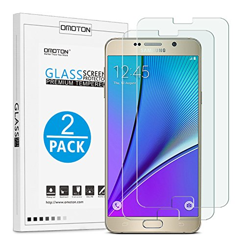 Tempered Glass Screen Protector for Samsung Note 5 - 3