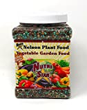 Nelson Vegetable Garden Plant Food Granular Fertilizer Multi Purpose High Calcium Phosphorus Micronutrients in Ground Gardens Containers Greenhouses NutriStar 12-14-11 (2 LB)