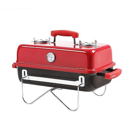 YI HOME- Barbacoa Al Aire Libre American BBQ Red Portable ...