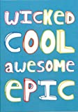 Wicked Awesome Epic Kids Thank You Notes 10 Pack