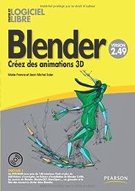 Blender 3e édition par Marie-france Soler