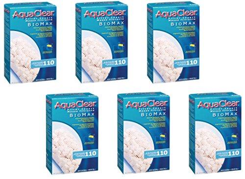 (6 Pack) Aquaclear 110-gallon Biomax