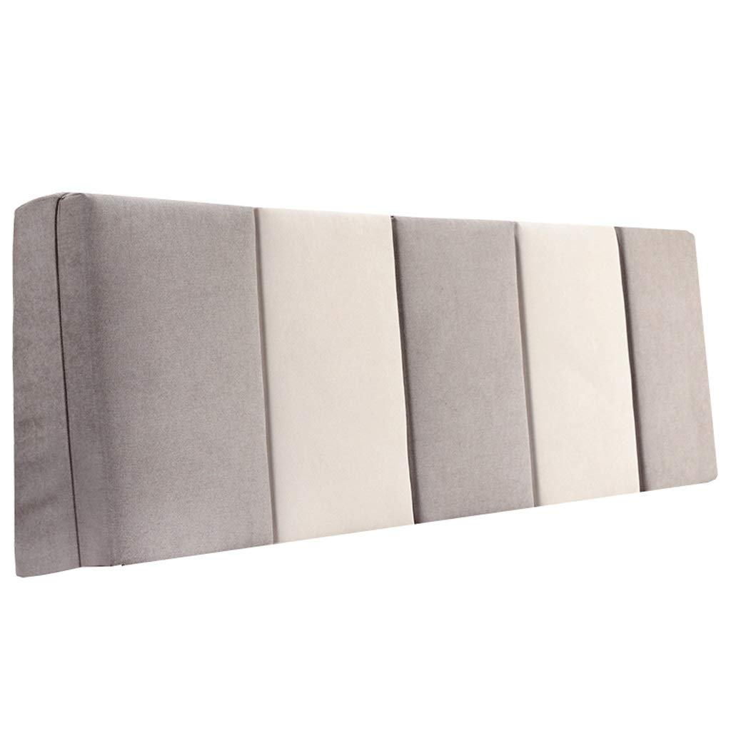 割引購入 ベッドサイド ダブルベッド背もたれクッションヘッドボードソファ張りの柔らかい枕腰椎パッド取り外し可能、7色、6サイズ (色 : 180cm Gray+Beige, サイズ Gray+Beige さいず : : 160cm) B07R7SMQVZ 180cm|Gray+Beige Gray+Beige 180cm, select shop HK/エイチケー:992057a7 --- chirurgische-klinik-bogenhausen.ru