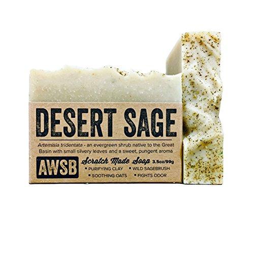 Desert Sage All Natural, Vegan, Organic Bar Soap, Handmade by A Wild Soap Bar