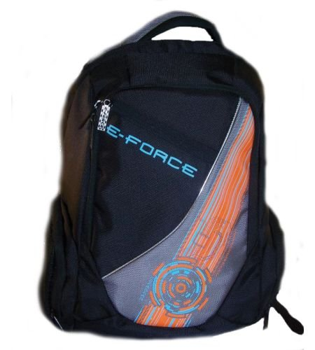 E-Force Racquetball Backpack-Black/Orange by E-Force