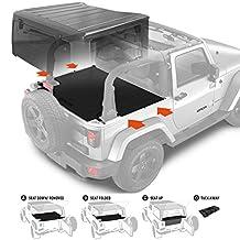 GPCA Jeep Wrangler 2-Dr. JK Trunk Cargo Cover for 2007- Present Models
