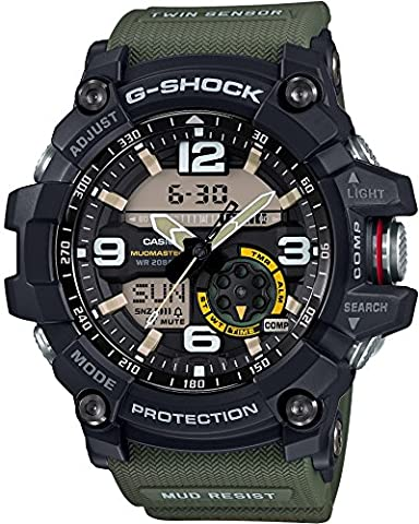 CASIO G-SHOCK MASTER OF G MUDMASTER GG-1000-1A3JF MENS JAPAN IMPORT (Gshock Watches Master Of G)