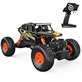 #9: DEERC Remote Control Car 4WD Off Road RC Cars 1/18 Scale Monster Truck for Adults RTR Crawler Vehicle 2.4GHz Radio Controlled High Speed Toys for Boys and Girls