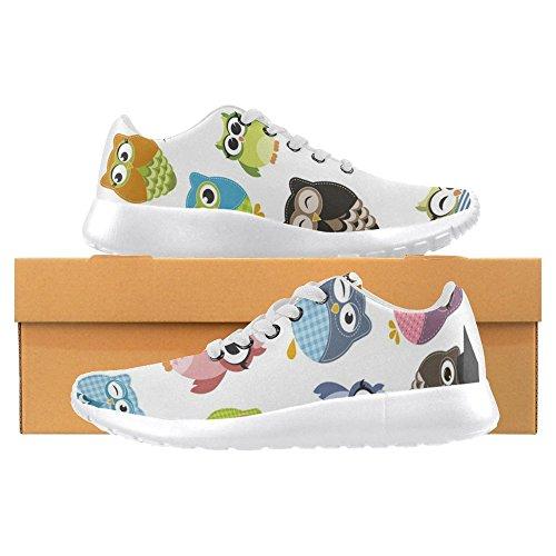 Interestprint Mujeres Jogging Running Sneaker Ligero Go Easy Walking Casual Comfort Zapatillas De Running Multi 11