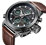 Best Digital Watches - Watch, Men's Watch Digital Multifunction Pointer Double Display Review