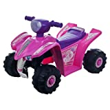 Lil Rider Princess Mini Quad Four Wheeler Ride-On Car, Pink