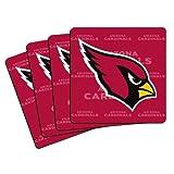 NFL Arizona Cardinals Neoprene Coaster, 4-Pack