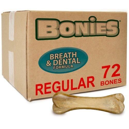 BONIES (BULK BOX) Natural Dental Bones (72 Regular Bones) by Bonies